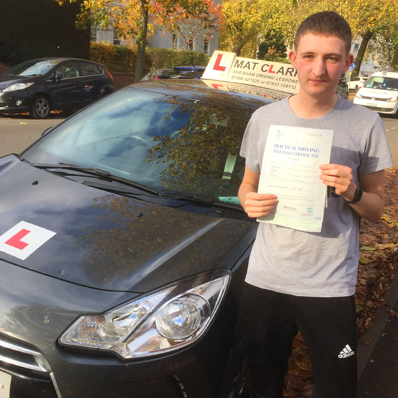 It was a very enjoyable experience and I managed to pass my driving test first time so I would highly recommend.