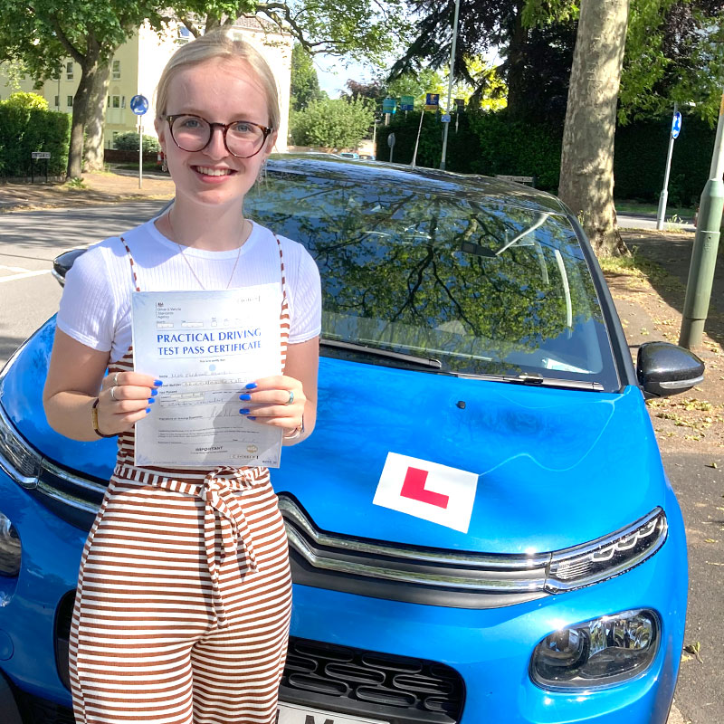 Mat gave me all the skills and confidence I needed, which resulted in me passing first time!