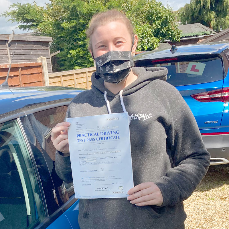 I would recommend Mat over and over again, thanks a million. Emma Wood Driving Lessons Review.