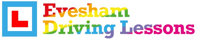 Learn to drive with Evesham Driving Lessons with Mat Clark Driving Instructor. Celebrating Diversity and Pride!