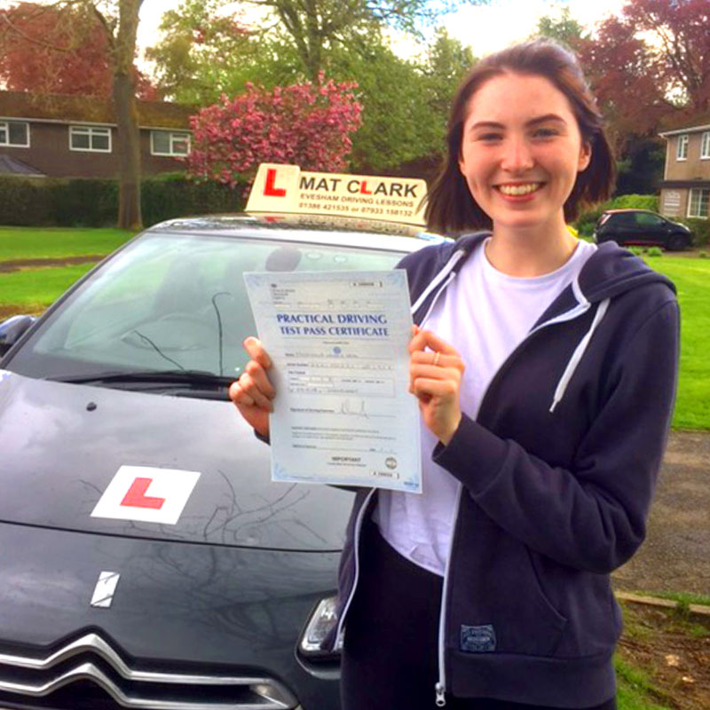 You really helped to build my confidence and feel completely at ease when driving and approaching my test. I've really enjoyed learning with you and would completely recommend you to anyone.