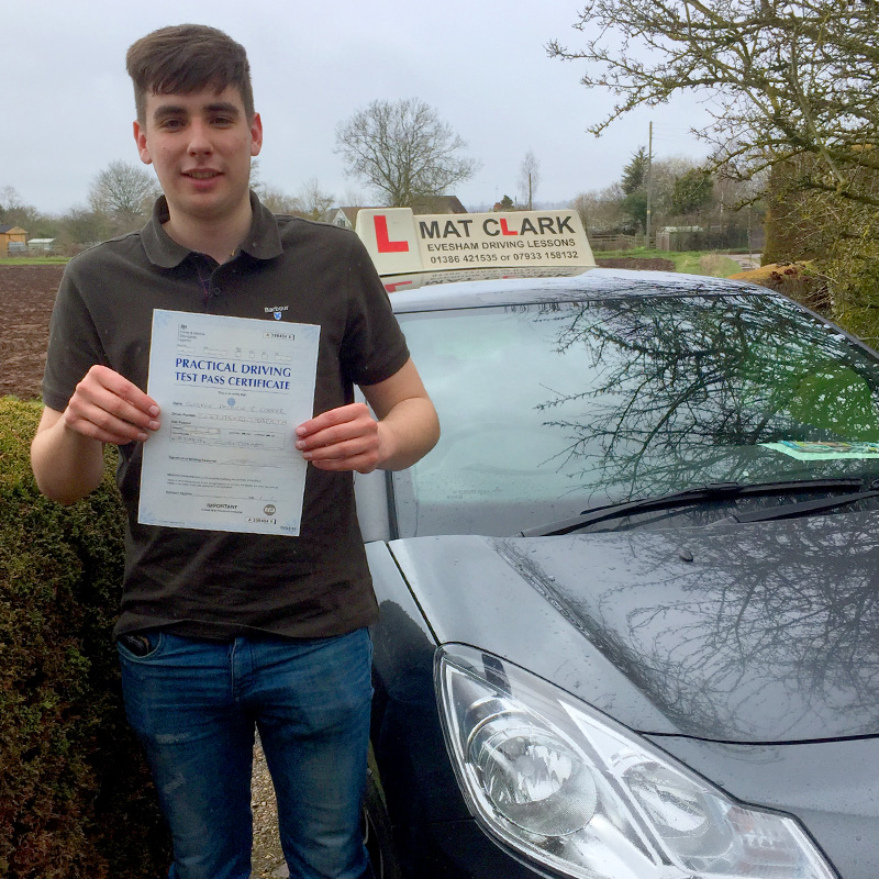 Absolutely brilliant time learning to drive with Matt, he passed me within 17 hours of driving and only got 3 faults on my test. Couldn't ask for better and advise to anyone.