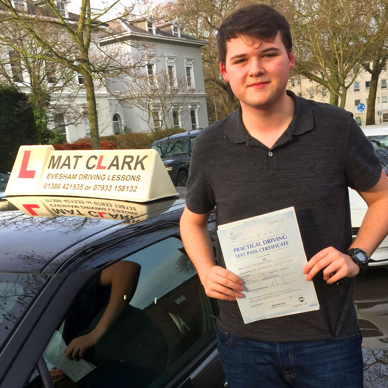 The experience of learning to drive was great! I passed my driving test first time with 2 minors. He was supportive, reassuring and all round nice guy.