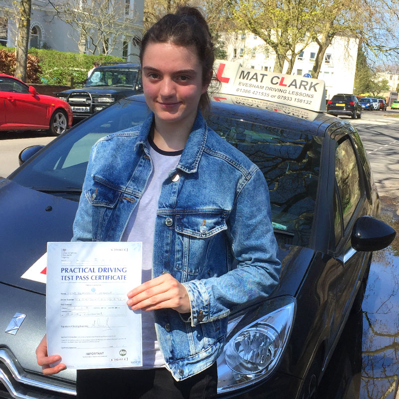 Mat Clark made the experience easy and stress free, the way he taught helped so that I wasn't nervous about going out on my own after I passed with only two minors.