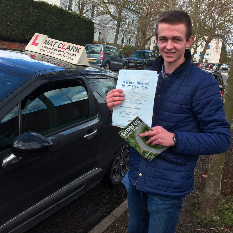 Top bloke, good sense of humour and I really enjoyed his driving lessons. I passed first time with only one minor. Can't thank you enough Mat