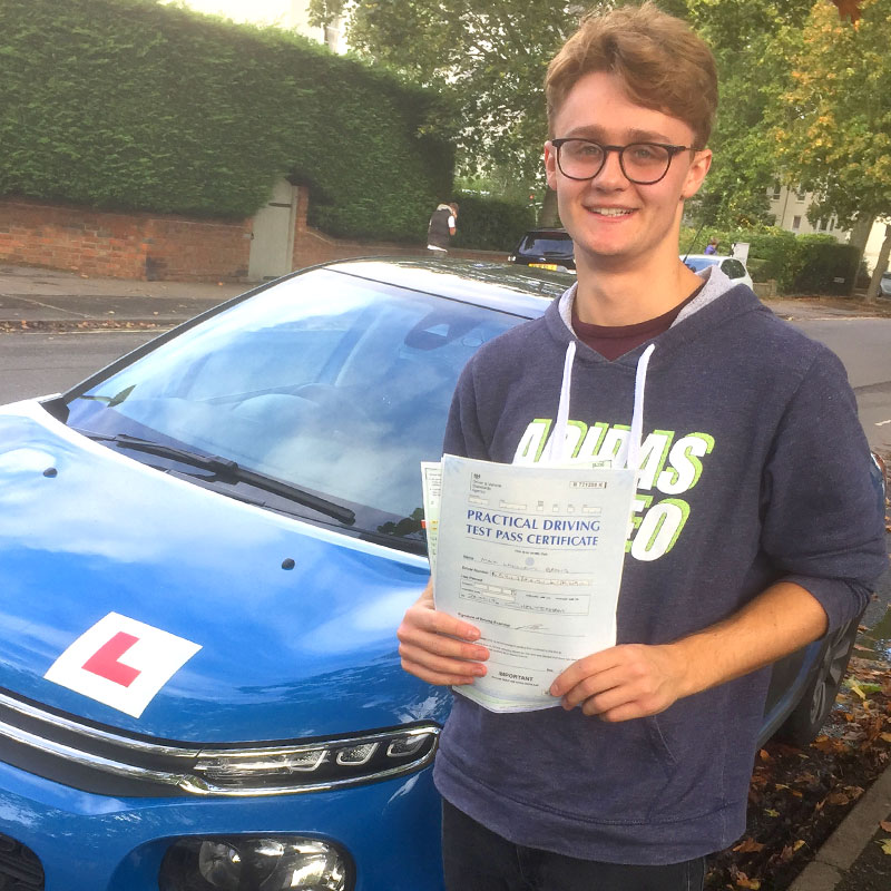 Mat is an excellent driving instructor. Really patient and helpful. Always focused on what I needed to learn. Good communicator and a pleasure to have as a teacher. Max Baylis.
