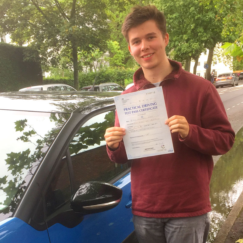 Mat was overall an amazing driving instructor. I would recommend him to anyone who needs to learn how to drive. Ryan Day.