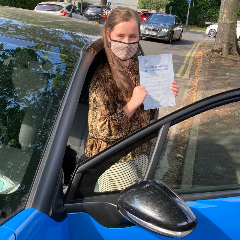 I passed first time with just one minor which shows just how good Mat is as a driving instructor!